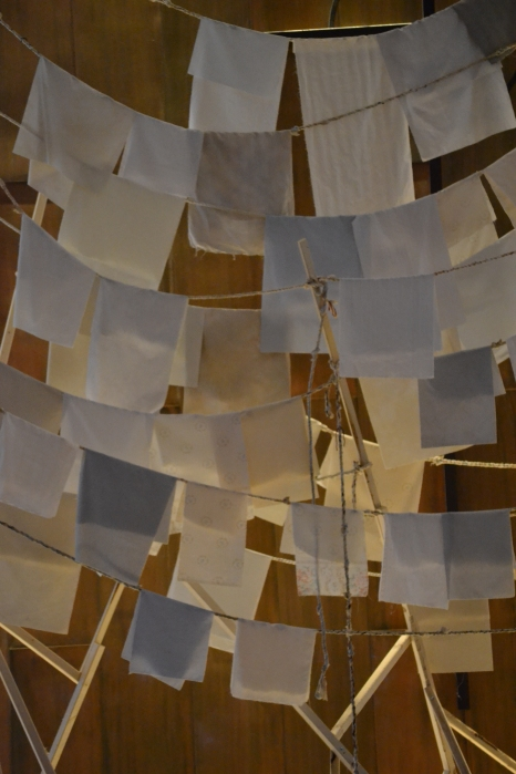 "Sculptural Installation for ""Music, Courage and Remembrance"""